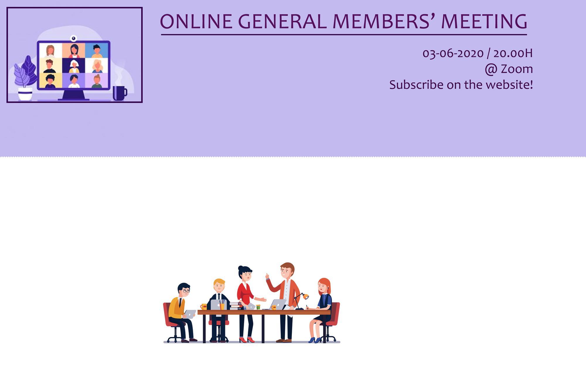 Pre-Transfer General Members' Meeting